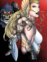 Masters of the Universe - He-Man and She-Ra v1 by Killersha