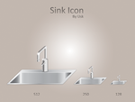 Sink icon by usk