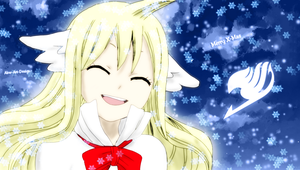 Fairy Tail Mavis Vermillion Christmas by Akw-Art-Design