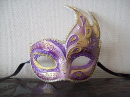 Venetian mask 2 by n-zelda-n