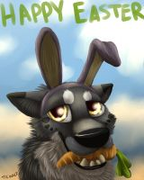 Happy Easter from Lucious! by TieWolf