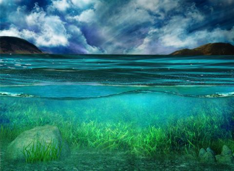 OCEAN BG stock 6 by Moonglowlilly