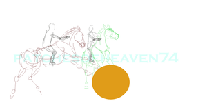 Work in Progress -Horse Soccer by patchesofheaven74