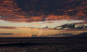 Sunset Surfing by jdk1