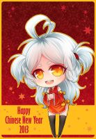 Happy Chinese New Year 2013 by PrinceOfRedroses