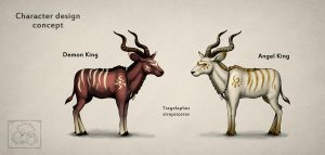 Kudu Kings by jrtracey