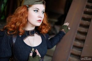 Miss Ginger Steam VI by MADmoiselleMeli