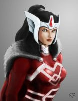 Lady Sif by mdm10