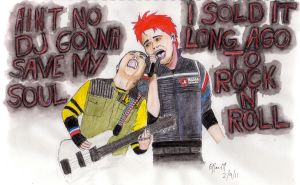 Fun Ghoul and Party Poison by strychnineink
