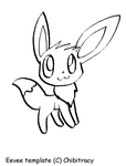 Eevee template by chibitracy
