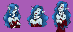 WIR-Sorceress Expressions by queenbean3