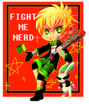 Fight Me by Terrimou
