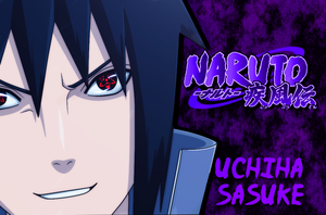 sasuke uchiha wallpaper by firststudent