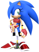 Sonii the Hedgehog Updated by ModernLixes