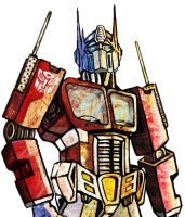 Optimus Prime by JodyBriggs