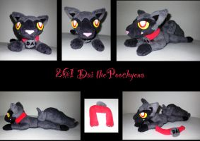 Poochyena plush by nfasel