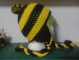 Hufflepuff Hat by AbstractAttic