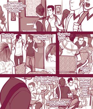 STEREK TEACHER comic commission by Romax pg01 by Slashpalooza