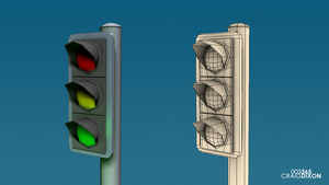 D3D 003 - Stoplight by SamuelLAssassin