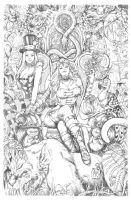 Wonderland 10  Cover Pencils by Kromespawn