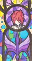 Stained Glass- Kiyama Hiroto/Gran by ksdestiny