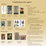 DOING COMISSIONS NOW!!! OPEN! by salome-chan999