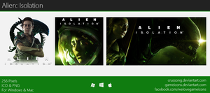 Alien: Isolation - Icon by Crussong