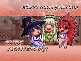 Grand Chase Anniversary by Nidyl