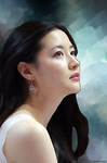 Lee Young-Ae by flame-of-rebirth