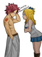 Don't do that!! |NaLu| COLORED by HinamoriMomo21