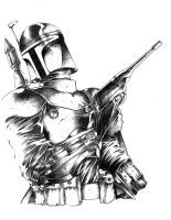 bobba fett by harveytsketchbook