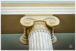 National Archaeological Museum of Athens Column by etsap