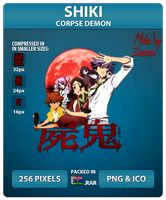 Shiki (Corpse Demon) - Anime Icon by Zazuma