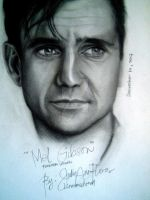 Mel Gibson (Forever Young) by JAF-Artwork