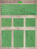 Link's Annoying Poses by luthien-surion