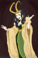 Disney Princess Lady Loki by disneyjedi1