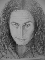 Ross Noble Portrait 2 by bec1989