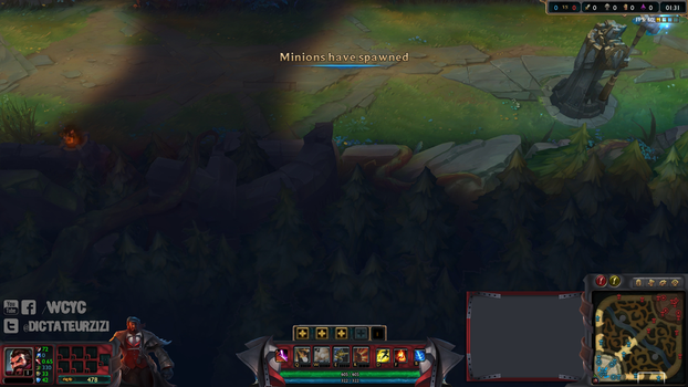 Overlay League of Legend Mafia Graves by Xiialu