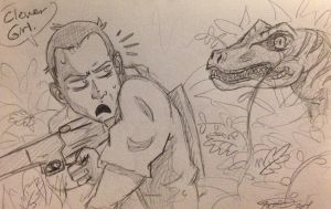 Clever Girl... by irishimo