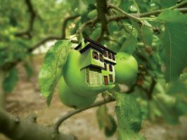 GreenAppleHouse by grebenru