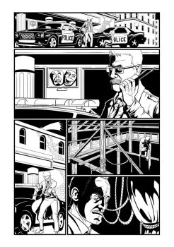 Batman Page 1 by Mike-Bunt