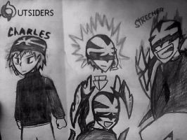 charles : the strecher ( outsiders project  ) by starfish34