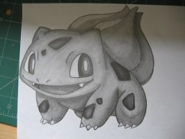 Bulbasaur- Sketch by sazmullium