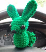 My Bunny is Green by Pickleweasel360