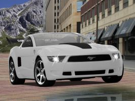 Ford Mustang Giugiaro Concept by Darwey