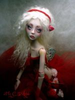 BJD Painting the roses CC by cdlitestudio
