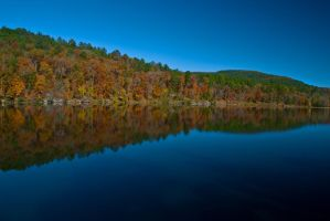 Autumn at the Lake by GONE-EVERLONG