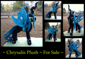 Chrysalis (Old Plush, New Pictures) by fireflytwinkletoes