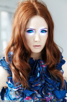 Karen Gillan and the Hypno Dress by 867564