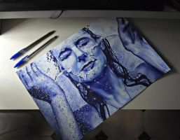Made with bic pen- by HGAlba